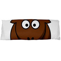 Elk Clip Art Reindeer Raindeer Elk Christmas Xmas Body Pillow Case Dakimakura (two Sides)