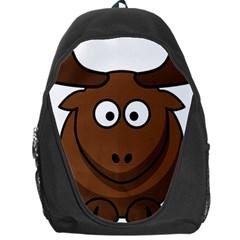 Elk Clip Art Reindeer Raindeer Elk Christmas Xmas Backpack Bag