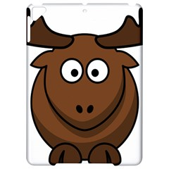 Elk Clip Art Reindeer Raindeer Elk Christmas Xmas Apple iPad Pro 9.7   Hardshell Case