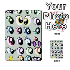 Eyes  Pattern Multi Purpose Cards (rectangle)