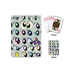 Eyes  Pattern Playing Cards (mini)