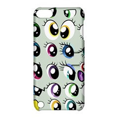 Eyes  Pattern Apple Ipod Touch 5 Hardshell Case With Stand