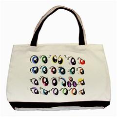 Eyes  Pattern Basic Tote Bag