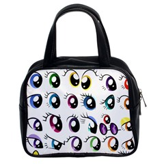 Eyes  Pattern Classic Handbags (2 Sides)