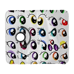 Eyes  Pattern Galaxy S3 (flip/folio)