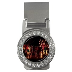 Holiday Lights Christmas Yard Decorations Money Clips (cz)