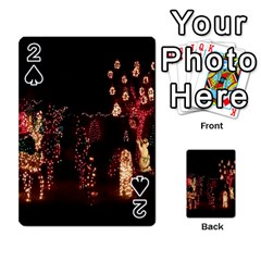Holiday Lights Christmas Yard Decorations Playing Cards 54 Designs