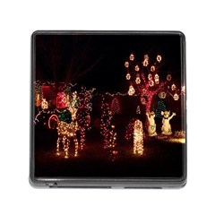 Holiday Lights Christmas Yard Decorations Memory Card Reader (square)