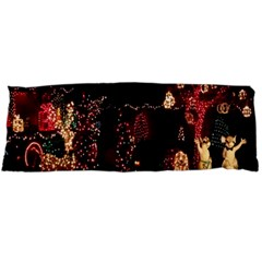 Holiday Lights Christmas Yard Decorations Body Pillow Case Dakimakura (two Sides)