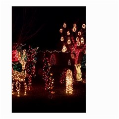 Holiday Lights Christmas Yard Decorations Small Garden Flag (two Sides)