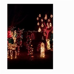 Holiday Lights Christmas Yard Decorations Large Garden Flag (two Sides)