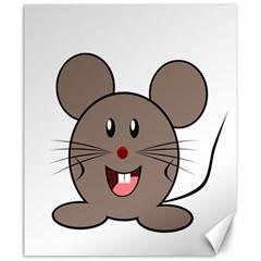 Raton Mouse Christmas Xmas Stuffed Animal Canvas 20  X 24