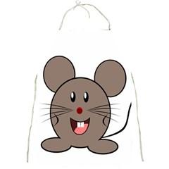 Raton Mouse Christmas Xmas Stuffed Animal Full Print Aprons