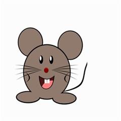Raton Mouse Christmas Xmas Stuffed Animal Small Garden Flag (two Sides)