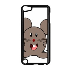 Raton Mouse Christmas Xmas Stuffed Animal Apple Ipod Touch 5 Case (black)