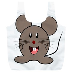 Raton Mouse Christmas Xmas Stuffed Animal Full Print Recycle Bags (l)