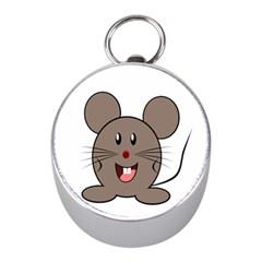 Raton Mouse Christmas Xmas Stuffed Animal Mini Silver Compasses