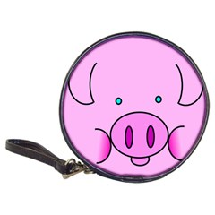 Pink Pig Christmas Xmas Stuffed Animal Classic 20 Cd Wallets