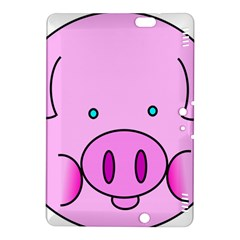 Pink Pig Christmas Xmas Stuffed Animal Kindle Fire Hdx 8 9  Hardshell Case