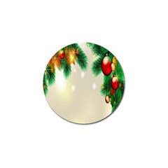 Ornament Christmast Pattern Golf Ball Marker