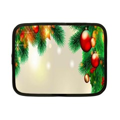 Ornament Christmast Pattern Netbook Case (small)
