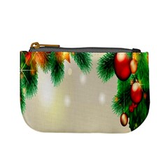 Ornament Christmast Pattern Mini Coin Purses