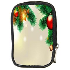 Ornament Christmast Pattern Compact Camera Cases