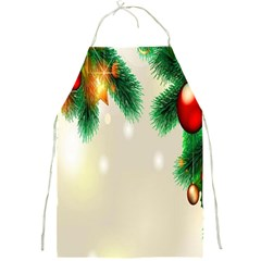 Ornament Christmast Pattern Full Print Aprons