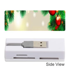 Ornament Christmast Pattern Memory Card Reader (stick)