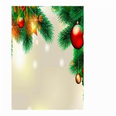 Ornament Christmast Pattern Small Garden Flag (two Sides)
