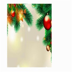 Ornament Christmast Pattern Large Garden Flag (two Sides)