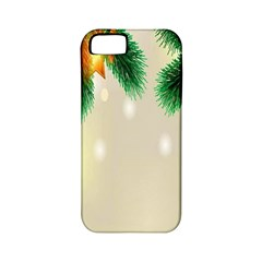 Ornament Christmast Pattern Apple Iphone 5 Classic Hardshell Case (pc+silicone)