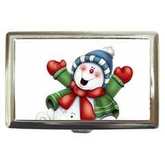 Snowman With Scarf Cigarette Money Cases