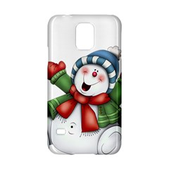 Snowman With Scarf Samsung Galaxy S5 Hardshell Case