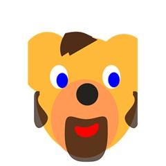 Solidarity Clipart Bear Head Teddy Bear Xmas Christmas Stuffed Animal 5 5  X 8 5  Notebooks