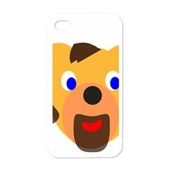 Solidarity Clipart Bear Head Teddy Bear Xmas Christmas Stuffed Animal Apple Iphone 4 Case (white)