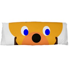 Solidarity Clipart Bear Head Teddy Bear Xmas Christmas Stuffed Animal Body Pillow Case Dakimakura (two Sides)