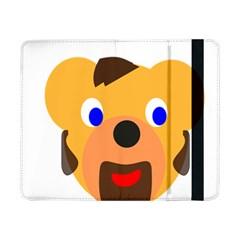 Solidarity Clipart Bear Head Teddy Bear Xmas Christmas Stuffed Animal Samsung Galaxy Tab Pro 8 4  Flip Case
