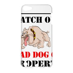 Watch Out Mad Dog On Property Apple Ipod Touch 5 Hardshell Case