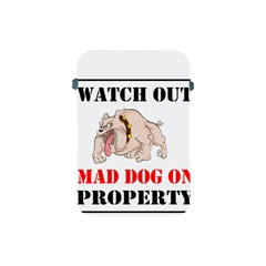 Watch Out Mad Dog On Property Apple Ipad Mini Protective Soft Cases