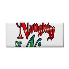 Vintage Christmas Naughty Or Nice Cosmetic Storage Cases