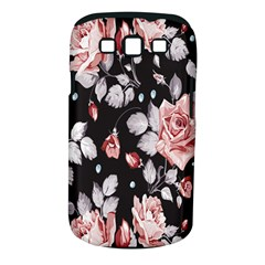 Vintage colorful Flower  Samsung Galaxy S III Classic Hardshell Case (PC+Silicone)