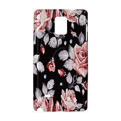 Vintage colorful Flower  Samsung Galaxy Note 4 Hardshell Case
