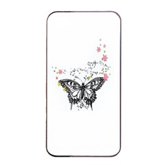 Lovely Butterfly Apple iPhone 4/4s Seamless Case (Black)