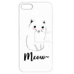 Cute Kitty  Apple iPhone 5 Hardshell Case with Stand