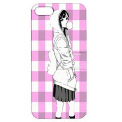 Cute Anime Girl  Apple iPhone 5 Hardshell Case with Stand