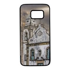 Exterior Facade Antique Colonial Church Olinda Brazil Samsung Galaxy S7 Black Seamless Case