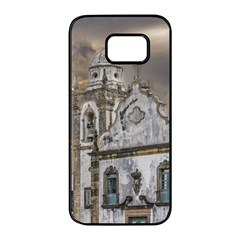 Exterior Facade Antique Colonial Church Olinda Brazil Samsung Galaxy S7 Edge Black Seamless Case