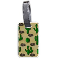 Cactuses Luggage Tags (One Side)