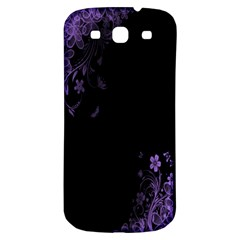 Beautiful Lila Flower  Samsung Galaxy S3 S III Classic Hardshell Back Case